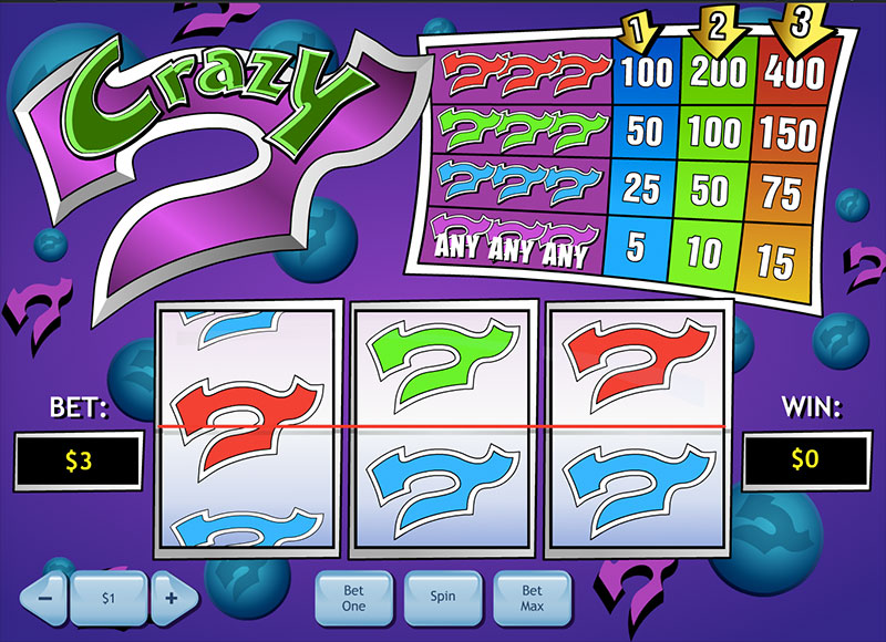 slot machine online Crazy 7