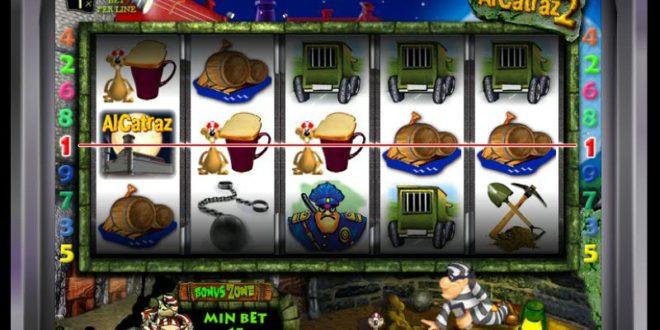 Alcatraz Slot Machine